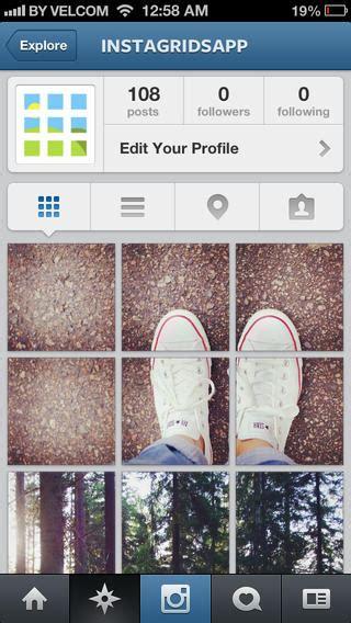 como fazer layout no instagram instagrid creare immagini mosaico su instagram via ios