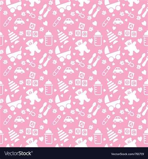 baby background seamless baby background royalty free vector image