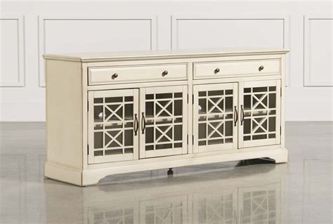 Cream Colored Buffet Table Home Ideas 70 Inch Buffet Table