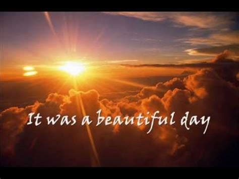 beautiful images for day beautiful day u2 lyrics