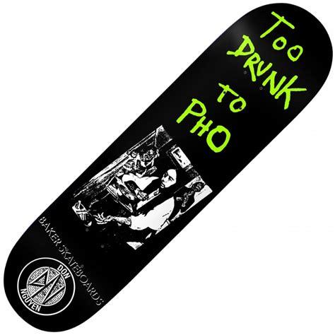 Baker Skateboards baker skateboards nuge to pho skateboard deck 8