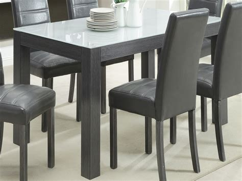 tridelpiece grey wood dining set buy sets room