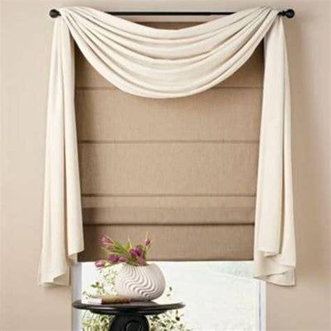 Gardinen Drapieren Ideen by Home Design And Decor Pretty Window Scarf Ideas White