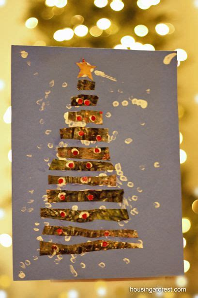 recycled paper christmas tree kids fun crafts