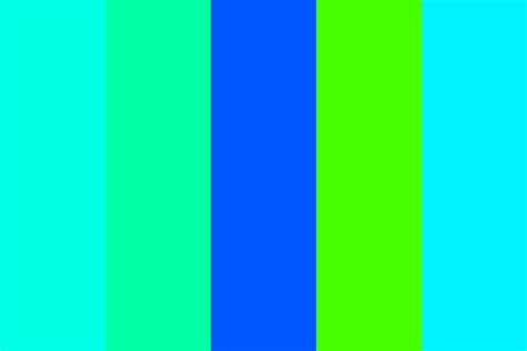shades of blue green shades of blue and green color palette