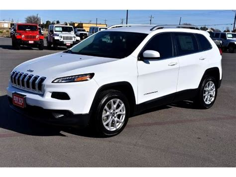 jeep white cherokee 2017 marble falls 2017 jeep cherokee latitude new for sale
