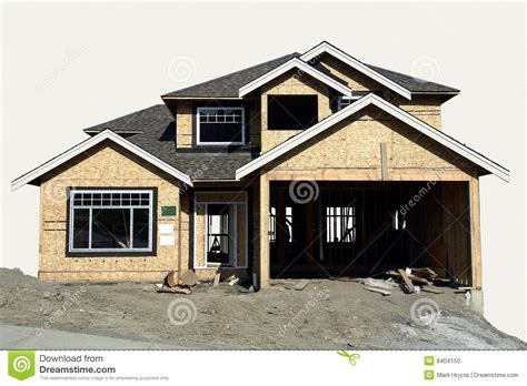 construction of a house house construction stock photo image 8404150