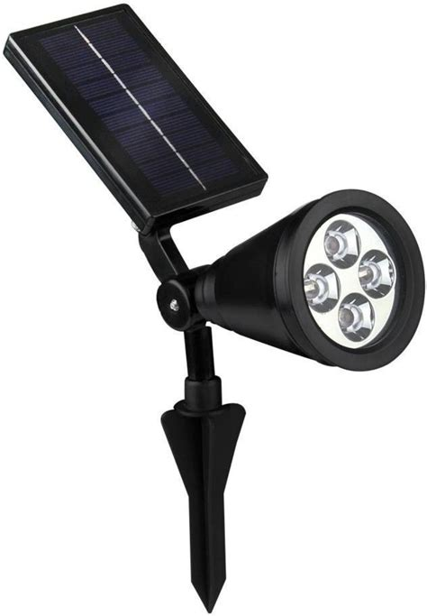bright solar spot lights quace bright outdoor led spotlight powered outdoor light