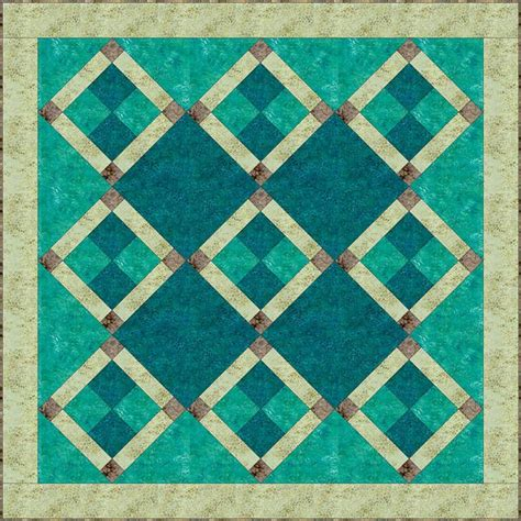 Easy Four Patch Quilt Pattern by Easy Batik Nine Patch Quilt Pattern Quilts Quilts