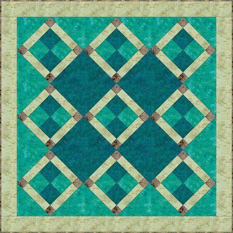 easy batik nine patch quilt pattern quilts quilts