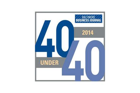 Of Baltimore Mba Class Schedule by Carey Alum Named To Business Journal S Quot 40 40 Quot List