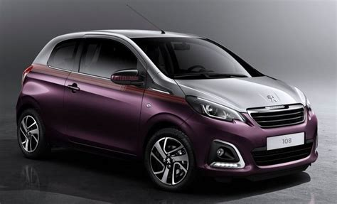 peugeot purple peugeot 108 city car is cute and feisty pictures