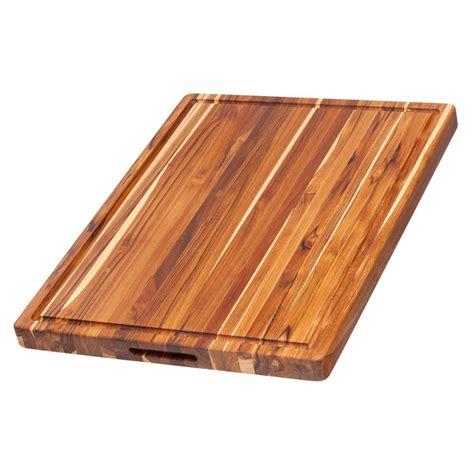 cutting edge woodwork teakhaus wooden cutting board 00810996010156 the home depot