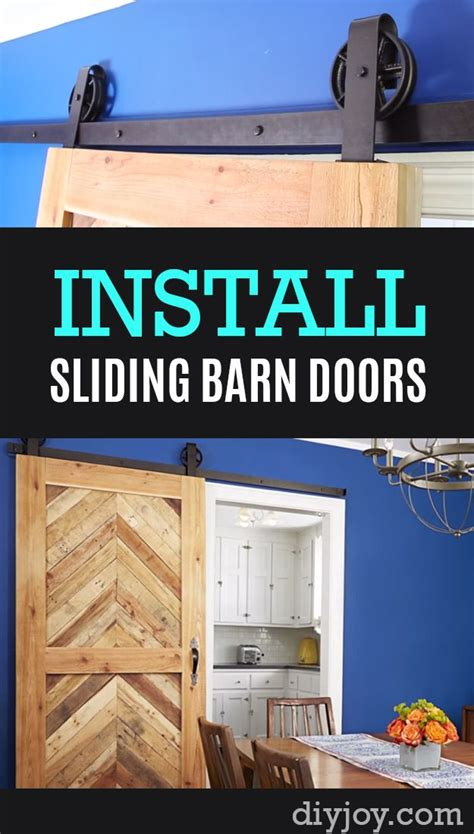 home hacks 2017 home improvement hacks how to install sliding barn doors