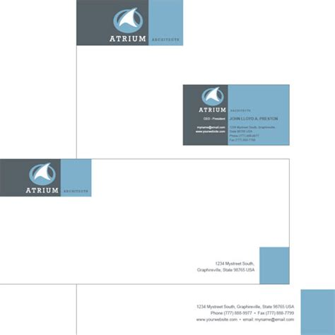 business card letterhead envelope template ultimate collection of free adobe indesign templates