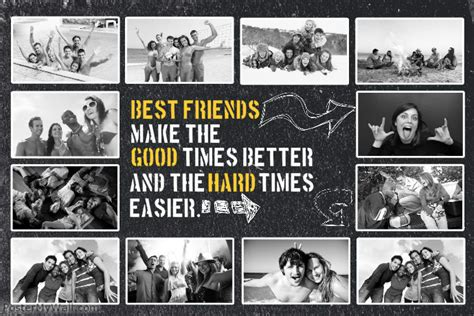 photo collage maker templates friends photo collage template postermywall