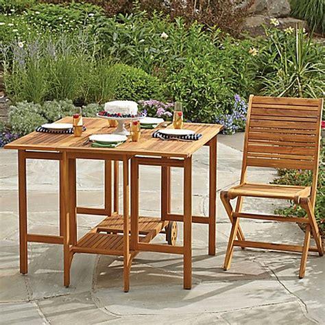 acacia wood folding table westerly acacia wood folding table bed bath beyond