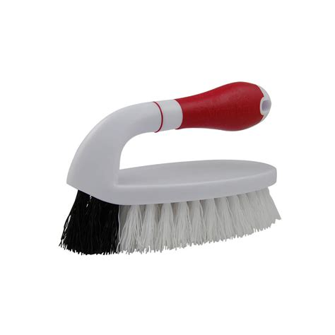 Scrub Brush shop clean results iron handle scrub brush at lowes
