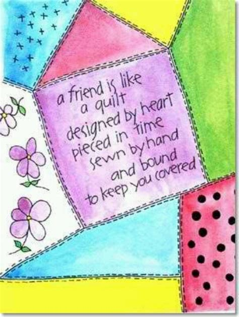 Quotes For Quilts by Quotes About Friends And Quilting Quotesgram