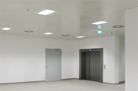 Cleanroom Ceiling Systems by Cleanroom Ceilings Cl Mounted Or Aluminium Grid Systems
