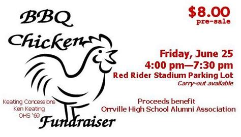 Bbq Ticket Template Free by Bbq Chicken Fundraiser June 25 In Orrville Oh Jun 25