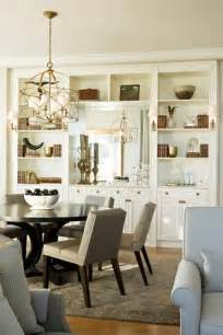 Storage Dining Room by White Built Ins Built Ins