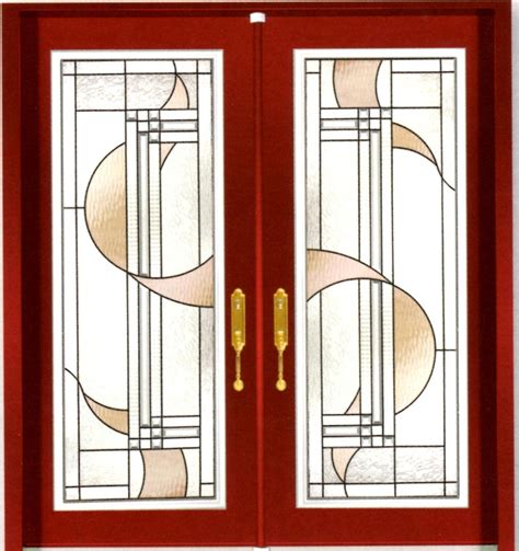 Stained Glass Inserts For Entry Doors Stained Glass Door Inserts And Wrought Iron Door Inserts