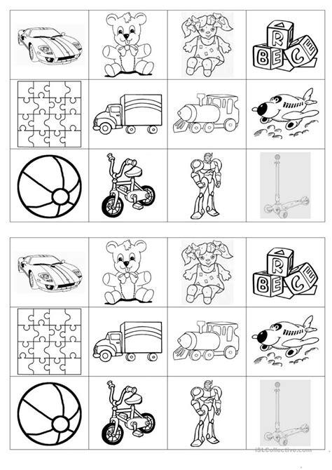 free printable toy worksheets for kindergarten memory game on toys worksheet free esl printable