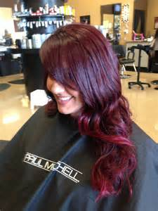 4vr hair color ombr 233 with paul mitchell the color and inkworks