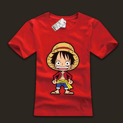T Shirt Monkey D Luffy lovely monkey d luffy tshirts one black tees for