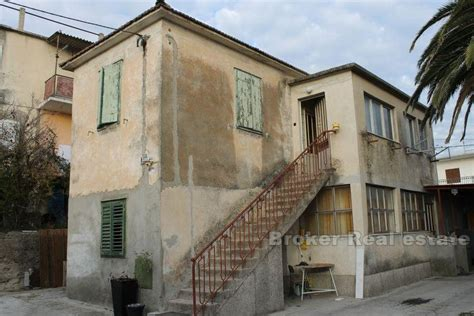 houses for renovation for sale croatia split area half of semi detached family house for sale
