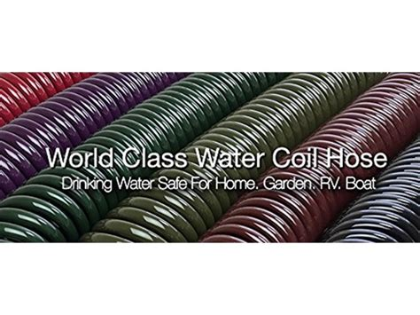 Garden Hose Easy To Coil Water Right Coil Garden Hose Eggplant 50ft
