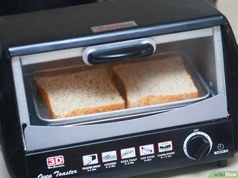 membuat roti panggang keju  oven microwave
