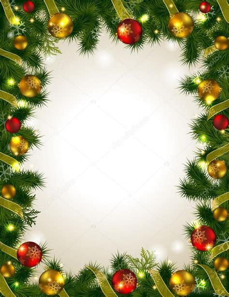 cornici natalizie cornice natale vettoriali stock 169 kraft2727 59753979