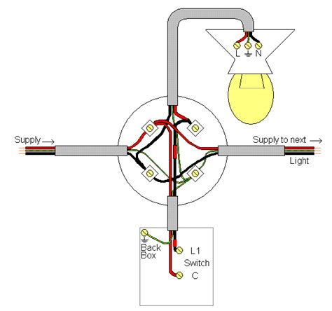 electrics lighting circuit layouts