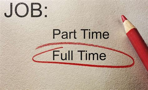 turning a part time into a time careerbuilder