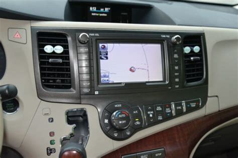 purchase used 2012 toyota sienna limited mini van limited back up camera navigation dvd in