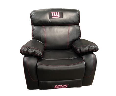 Nfl Recliner by Nfl New York Ch Bonded Leather Rocker Recliner Chair