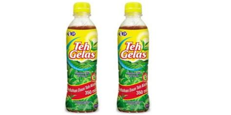 Teh Gelas 330ml Kotak new packaging for teh gelas with less sugar option mini