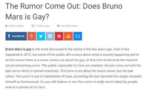 What Does It To Come Out Of The Closet by Vcu Concepts I Does Bruno Mars Is