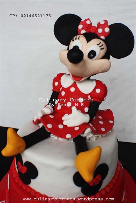 3d Hiding Mickey Dan Minni Mouse kue ulang tahun minnie mouse culinary corners page 2