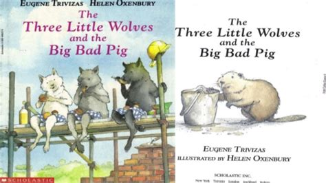 The Three Wolves And The Big Bad Pig the three wolves and the big bad pig