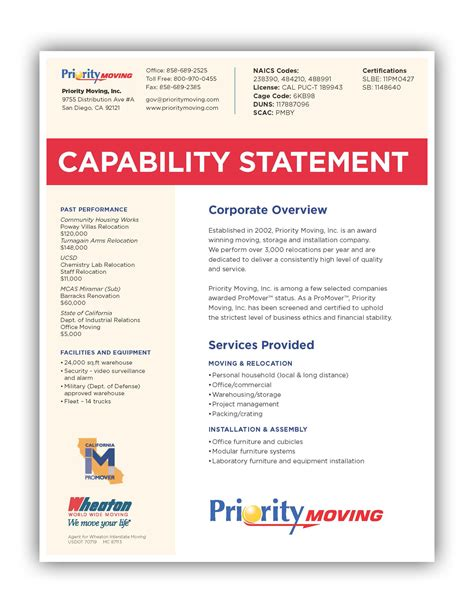 capability statement template word capability statement template word 6 pay stub template