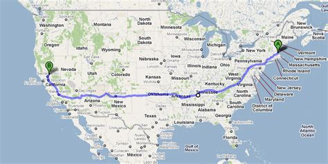 map of the us highway 40 harley ride across america