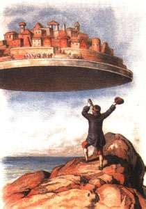 gullivers travels the great 0863077129 a great book study laputa the floating island can it get any weirder