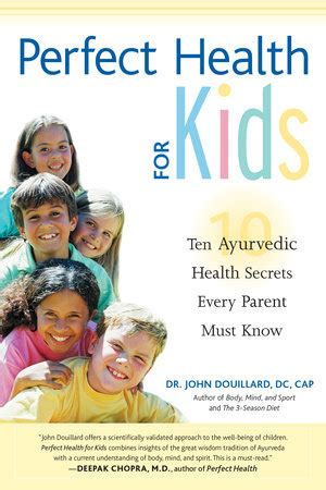 Perfect Health For Kids North Atlantic Books