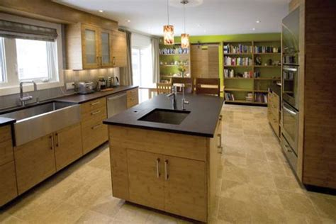 bamboo kitchen design bamboo kitchen cabinets gives more benefits naindien