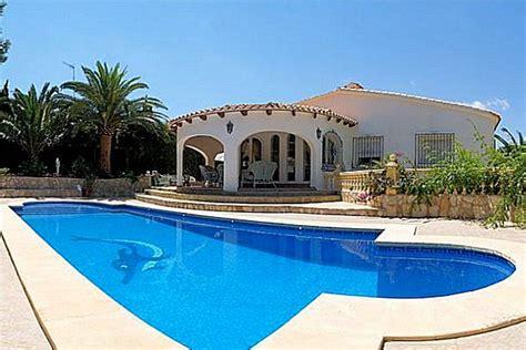 villa spain villa rentals in costa blanca spain