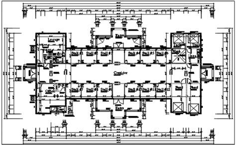 layout design of a shopping mall shopping mall plan layout details dwg file