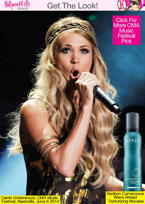 how does rena in nashvile curl her hair carrie underwood s hair at cma festival hairstyle how to